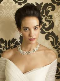 pearl necklace wedding images The queen elizabeth pearl necklace earring bridal wedding set jpg