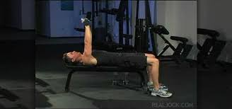 Flat Bench Dumbell How To Do Flat Bench Dumbbell Power Press Drop Set Weights