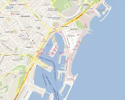 Map Running Route by The Most Beautiful Running Route At The Beach Of Barcelona Mylot