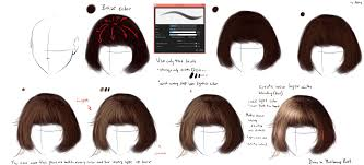 hair tutorial easy realistic hair tutorial by ryky on deviantart