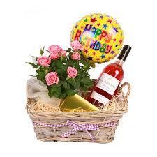 wine birthday gifts wine baskets in spain happy gift set