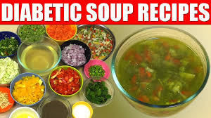 Diabetic Diet How To Make Simple Basic Vegetable Soup Recipe Youtube