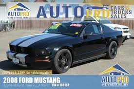 car sales ford mustang ford mustang for sale in fresno ca carsforsale com