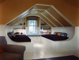loft style bedroom design at the attic small design ideas