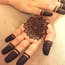 henna mehndi designs idea for palms of tattoos