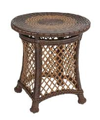 rattan side table outdoor hannah outdoor wicker furniture