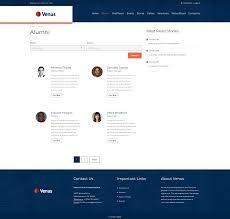 alumni website software venus alumni association by t1m9m codecanyon