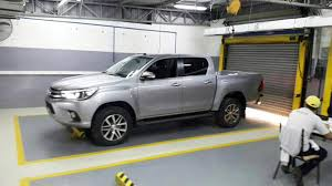 toyota hilux interior and exterior leaked