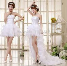 wedding dress pendek aliexpress buy white detachable wedding