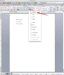 How To Make A Resume With Microsoft Word Mac Word 2011 Insert Horizontal Line U2013 Scottlinux Com Linux Blog