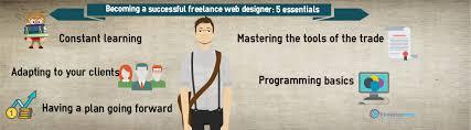 designer freelancer becoming a successful freelance web designer 5 essentials