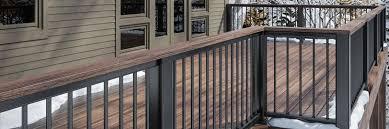 deck railing systems metal composite vinyl glass cable