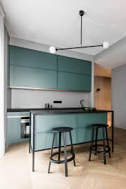designer kitchen gadgets apartment interior in basanavicius street by akta studio d u0027autres