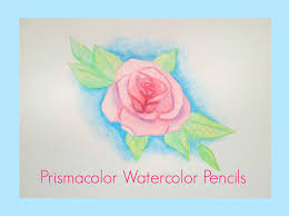 prismacolor watercolor pencils prismacolor watercolor pencil review and painting