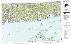 Map New York Connecticut by New York Topo Maps Topographic Maps 1 100 000
