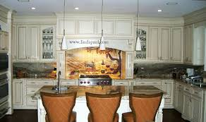 kitchen mural backsplashes best kitchen places