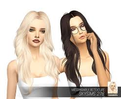 sims 4 custom content hair 734 best the sims 4 hair all images on pinterest hair dos sims