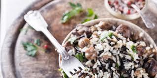 wild rice thanksgiving side dish wild rice with wild mushrooms recipe epicurious com