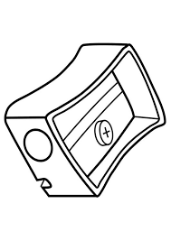 pencil coloring pages coloring page pencil sharpener img 19281