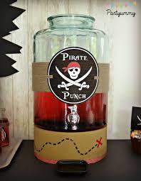 Pirate Decorations Homemade Organiser Un Anniversaire Pirate Pour Enfant Avec Printables Tuto