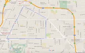 Map Of The Strip Great Runs In Las Vegas U2013 Great Runs U2013 Medium