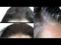 how to bring out the grey in hair coconut oil and lemon mixture it turns gray hair back to its