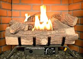 gas fireplace log placement propane gas fireplace logs with remote gas insert vs gas logs oak