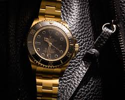 golden rolex rolex deep sea gold dlc titan black