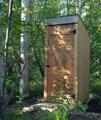 building an outhouse homesteading and livestock roof vents ana white build a simple outhouse free and easy diy project and furniture plans
