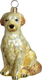 pet set golden retriever ornament for the of