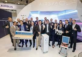 Aircraft Interiors Expo Americas Airbus Wins Crystal Cabin Award In Several Categories At Aircraft