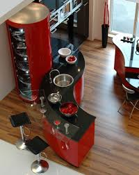 Red And Black Kitchen Ideas Contemporary Kitchen Design Ideas Luxury Kitchens Kitchen