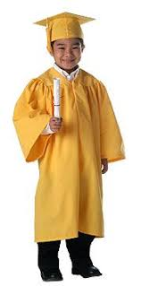 kids cap and gown yellow graduation gown other dresses dressesss