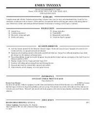 Veterinary Resume Examples by 84 Best Resume Images On Pinterest Resume Resume Templates And Menu