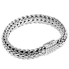 bracelet silver price images Sterling silver bali weave dotted barrel clasp bracelet 15mm jpg