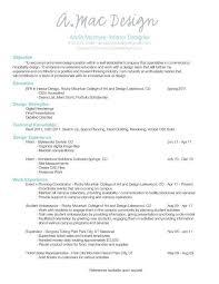 interior decorator resume interior designer free resume samples