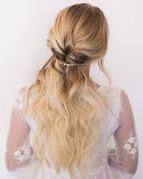 partial updos for medium length hair 40 stunning half up half down wedding hairstyles with tutorial