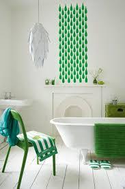 Bathroom Wall Stencil Ideas Stencil Feature Wall Bathroom Ideas Tiles Furniture