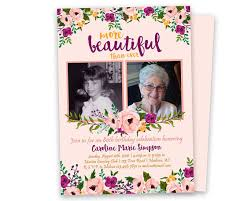 these are beautiful then and now photo woman birthday invitations