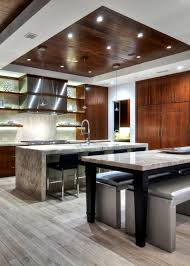 kitchen led light fixtures creative led light fixtures for kitchens adhered by wood ceiling