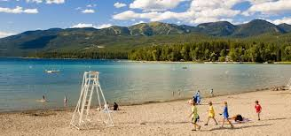 Montana beaches images Burly 39 s at whitefish city beach whitefish roadtrippers jpg