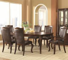 7 Piece Dining Room Set Buy Louanna Transitional 7 Piece Dining Set By Coaster From Www