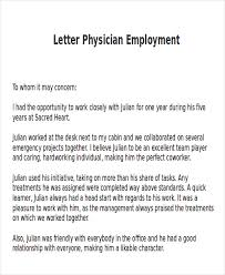 letter of recommendation for job letter of recommendation for