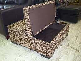 Coffee Table Ottoman With Storage by Living Room Animal Print Ottoman Decor Ideas Home Interior