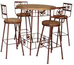 rustic pub table and chairs rustic pub table rustic bistro table bistro table set