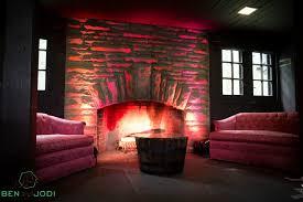fireplace lounge at happy days lodge photo by ben and jodi
