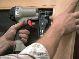 build a wooden screen door hgtv