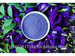 organic edible flowers high quality herb instant dried butterfly pea flower in
