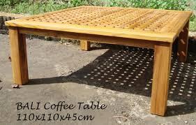 Bali Coffee Table Bali Coffee Table 110x110x45 Baliette Home Furnishings Bali