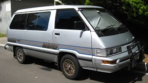 mitsubishi van 1988 aussie old parked cars 1988 toyota tarago gli efi